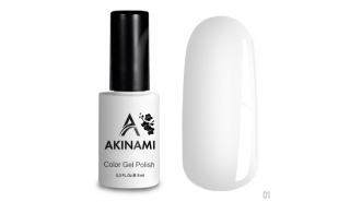 Akinami Color Gel Polish White - №001