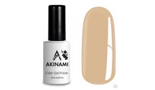 Akinami Color Gel Polish Baked Milk - №003
