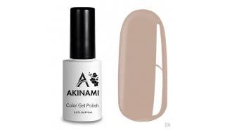 Akinami Color Gel Polish Pale Beige - № 004
