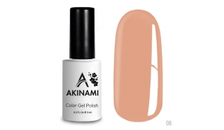 Akinami Color Gel Polish Caramel- №006