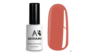 Akinami Color Gel Polish Salmon - №010