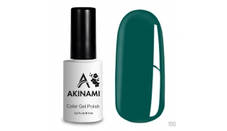 Akinami Color Gel Polish Aqua - №100