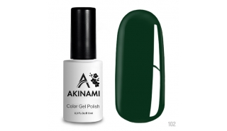 Akinami Color Gel Polish Dark Green - №102