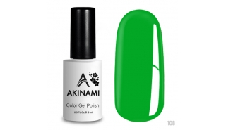 Akinami Color Gel Polish Electric Green - №108