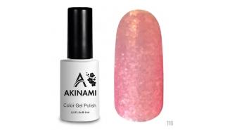Akinami Color Gel Polish Pink Glass - №116