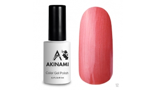 Akinami Color Gel Polish Coral Pearl - №012