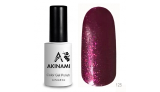 Akinami Color Gel Polish Cherry Jam - №125