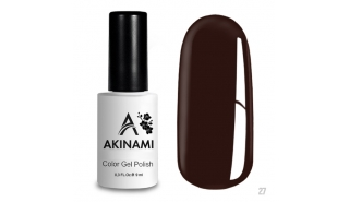 Akinami Color Gel Polish Chocolate - №027