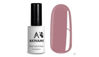 Akinami Color Gel Polish Rose Smoke - №033