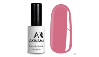 Akinami Color Gel Polish Rose - №036