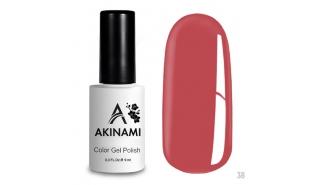 Akinami Color Gel Polish Coral Pink - №038