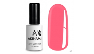 Akinami Color Gel Polish Bright Pink - №046