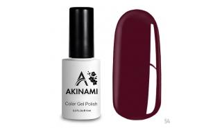 Akinami Color Gel Polish Sangria - №54