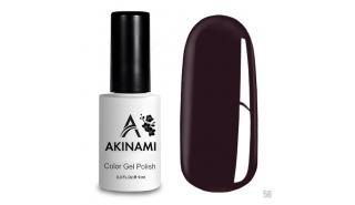 Akinami Color Gel Polish Plum - №56