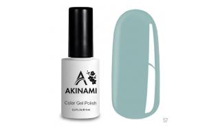 Akinami Color Gel Polish Pale Blue - №057