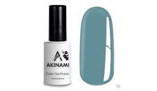 Akinami Color Gel Polish Light Blue - №59