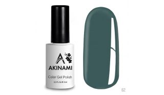 Akinami Color Gel Polish Blue Steel - №62