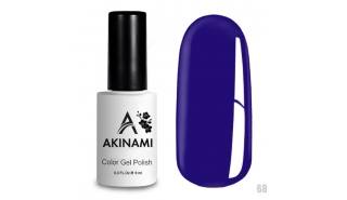 Akinami Color Gel Polish Ultramarine - №68
