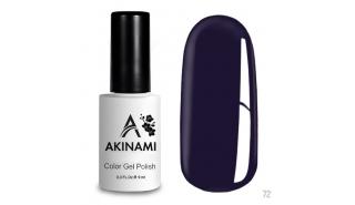 Akinami Color Gel Polish Indigo - №72