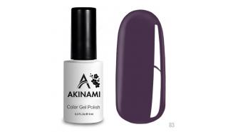 Akinami Color Gel Polish Dusty Purple - №83