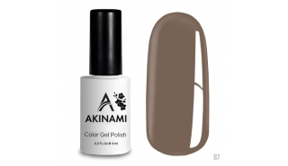 Akinami Color Gel Polish Warm Taupe - №87