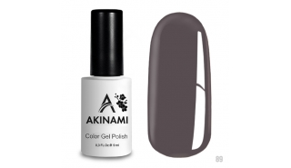 Akinami Color Gel Polish Platinum Gray - №89