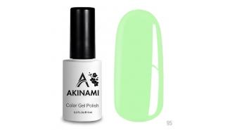 Akinami Color Gel Polish Green Flash - №95