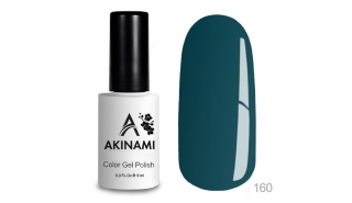 Akinami Color Gel Polish Green Blue - №160