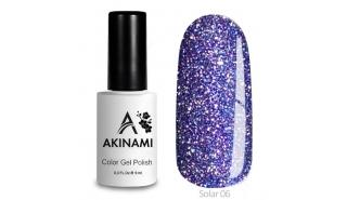 Akinami Color Gel Polish Solar - 06, светоотражающий гель-лак, 9 мл