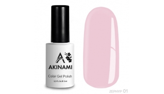Akinami Color Gel Polish - Zephyr - 01
