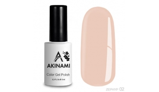 Akinami Color Gel Polish - Zephyr - 02