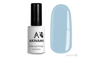 Akinami Color Gel Polish - Zephyr - 08