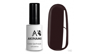Akinami Color Gel Dark Burgundy - №140