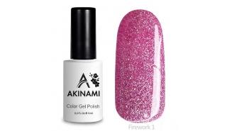 Akinami Color Gel Polish Fireworks - 01