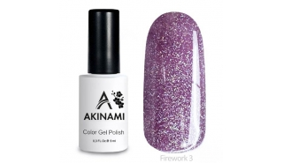Akinami Color Gel Polish Fireworks - 03