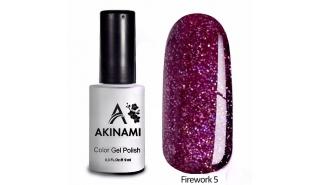 Akinami Color Gel Polish Fireworks - 05