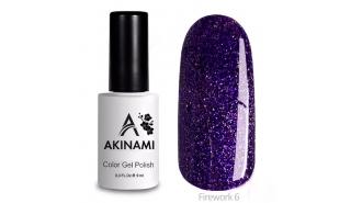 Akinami Color Gel Polish Fireworks - 06
