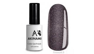 Akinami Color Gel Polish Fireworks - 09