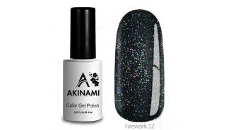 Akinami Color Gel Polish Fireworks - 12