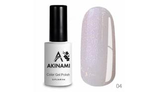 Akinami Glitter Base Gel 4 - БАЗА с мерцанием, объем 9 ml
