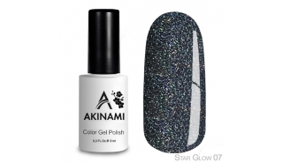 Akinami Color Gel Polish Star Glow - 07