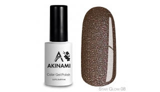 Akinami Color Gel Polish Star Glow - 08