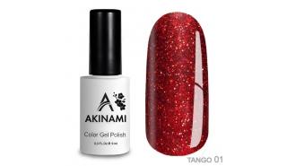 Akinami Color Gel Polish Tango - 01, 9 ml