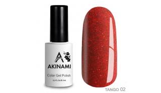Akinami Color Gel Polish Tango - 02, 9 ml