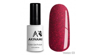 Akinami Color Gel Polish Tango - 03, 9 ml