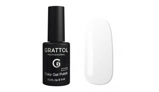 Гель-лак Grattol Color Gel Polish White - №01