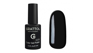 Гель-лак Grattol Color Gel Polish Black - №02