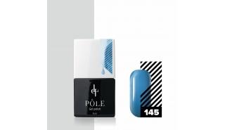 Гель-лак POLE  №145 - сияющий голубой, 8 мл.