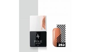 Цветной гель-лак POLE №252 - персиковое настроение, 8 мл