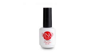 UNO LUX High Gloss top coat, топ без липкого слоя LUX 15 ml